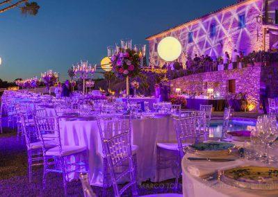 pagani service cortona villa weddings lights
